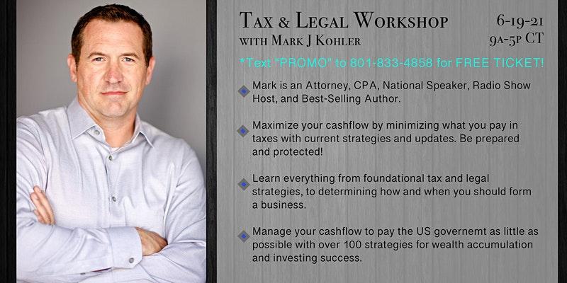 Mark J Kohler - Tax and Legal Playbook